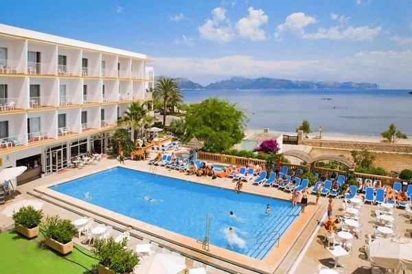 Hotel jet tours alcudia 3 toiles palma de majorque ile de for Piscine baleares
