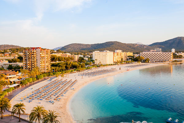 Plage - Fergus Tobago Hotel Fergus Tobago3* Majorque (palma) Baleares