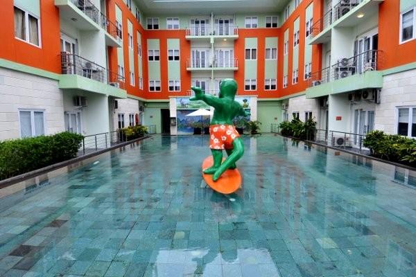 Piscine - Harris & Residences Riverview Kuta Hôtel Harris & Residences Riverview Kuta3* sup Denpasar Bali