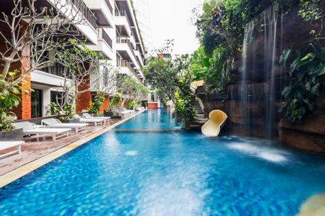 Bali-Denpasar, Hôtel Jambuluwuk Oceano Seminyak 4*