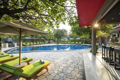 Bali-Denpasar, Hôtel Kuta Sea View Boutique Resort & Spa 4*