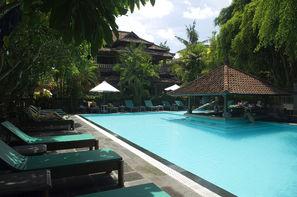 Bali-Denpasar, Hôtel Puri Bambu 2* sup