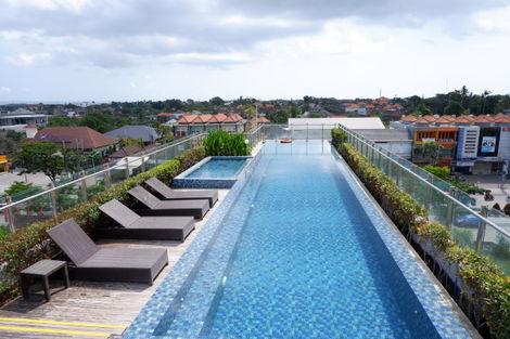 Bali-Denpasar, Hôtel Santika Seminyak 4*
