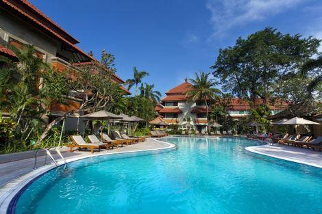 Bali-Denpasar, Hôtel White Rose Kuta Resort & Spa 4*
