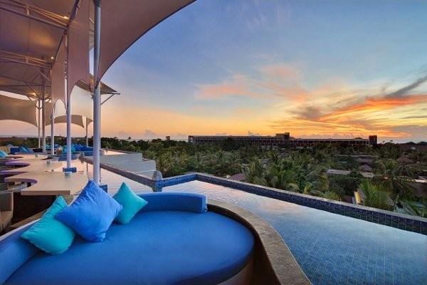 Terrasse - Golden Tulip Devins Seminyak Hotel Golden Tulip Devins Hotel Seminyak4* Denpasar Bali