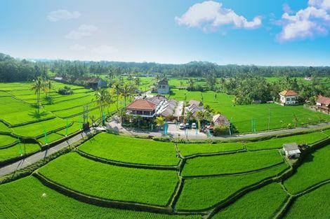 Bali-Denpasar, Hôtel Anema Villa Seminyak & Abirama Ubud Villa avec excursions 4*