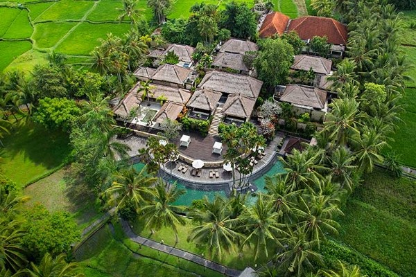 Vue Panoramique - The Ubud Village  Hotel The Ubud Village		4* Denpasar Bali