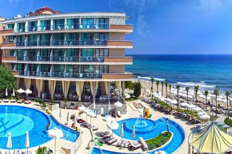Bulgarie-Burgas, Hôtel Zornitza Sands Beach & Spa 4* sup