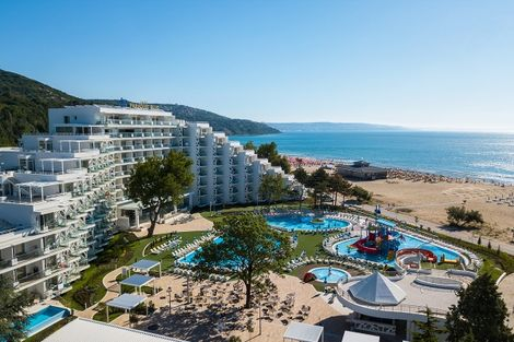 Bulgarie-Varna, Hôtel Maritim Hôtel Paradise Blue Albena 5*