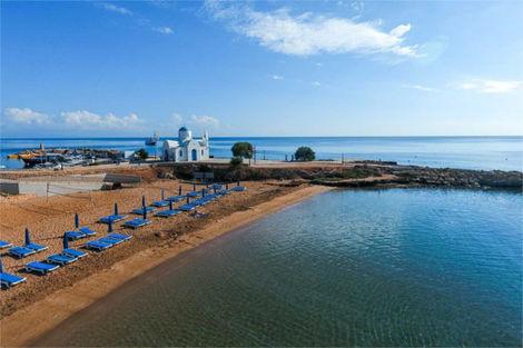 Chypre-Larnaca, Hôtel Golden Coast Beach 4*