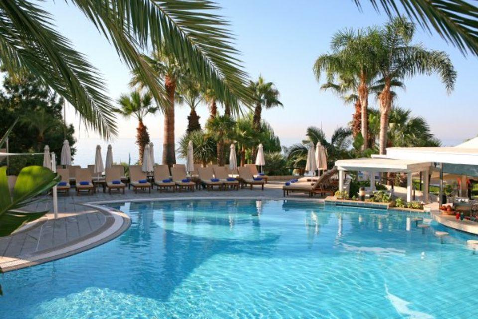 Hôtel Mediterranean Beach Hotel Larnaca Chypre