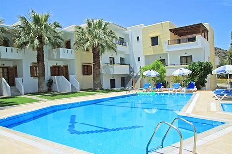 Crète-Heraklion, Hôtel Angelika 3*