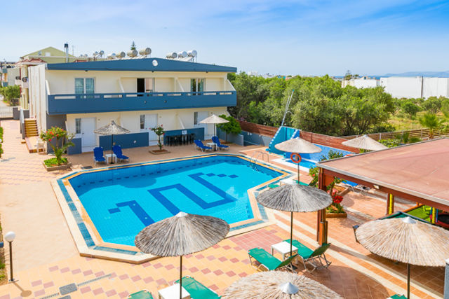 Crète : Hôtel Anthoula Village