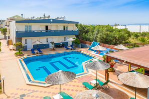 Crète-Heraklion, Hôtel Anthoula Village 4*
