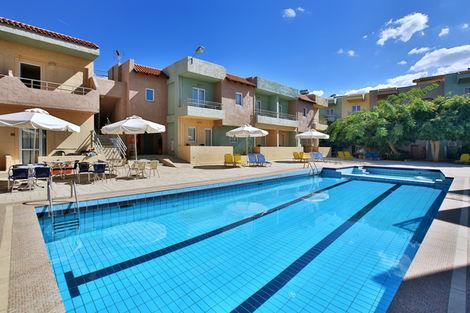 Crète-Heraklion, Hôtel Cosman Aparthotel 3*