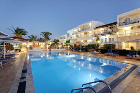 Crète-Heraklion, Hôtel Cretan Garden 3*