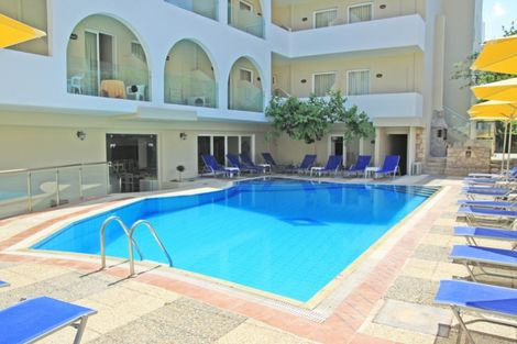 Crète-Heraklion, Hôtel Dimitrios 4*