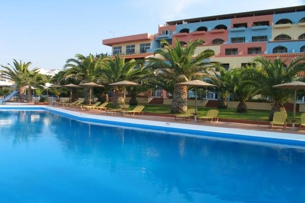 Piscine et logements - Europa Resort Hotel Europa Resort3* Heraklion Crète