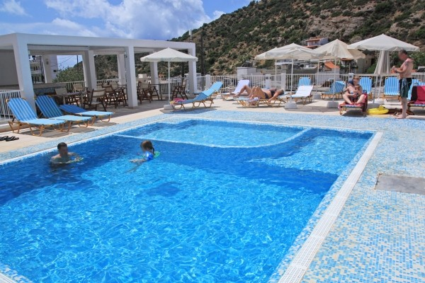 piscine - Glaros Hotel Glaros4* Heraklion Crète