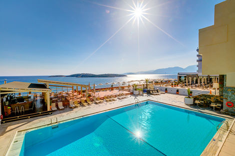 Crète-Heraklion, Hôtel Hermes 4*
