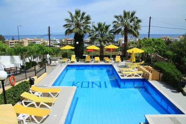 Piscine - Koni Village Hotel Koni Village3* Heraklion Crète