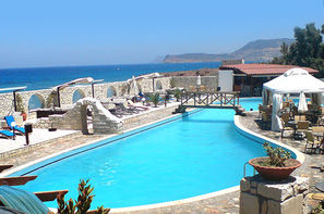 Crète-Heraklion, Hôtel Lassion Golden Bay 3*