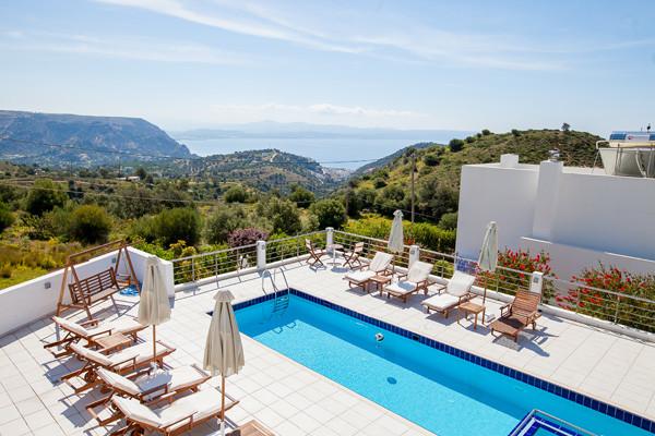 Piscine - Lenikos. Hotel Lenikos.4* Heraklion Crète