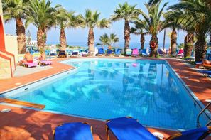 Crète-Heraklion, Hôtel Palm Bay 3*