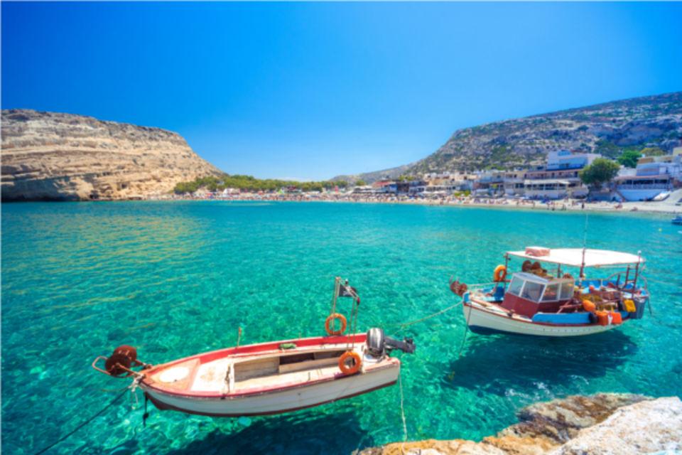 Hôtel Paradise Matala Crète
