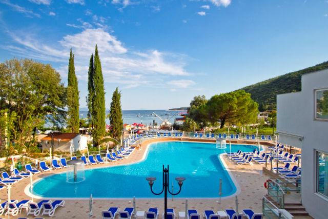 Croatie : Hôtel Mimosa - Lido Palace
