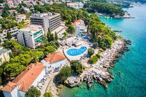 Croatie-Rijeka, Hôtel Resort Dranzica 3*
