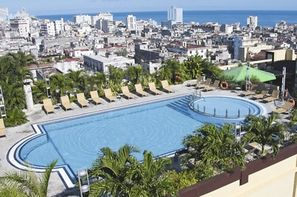Cuba-La Havane, Hôtel Iberostar Parque Central 5*