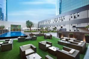 Dubai et les Emirats-Dubai, Hôtel Damac Maison Cour Jardin 5*