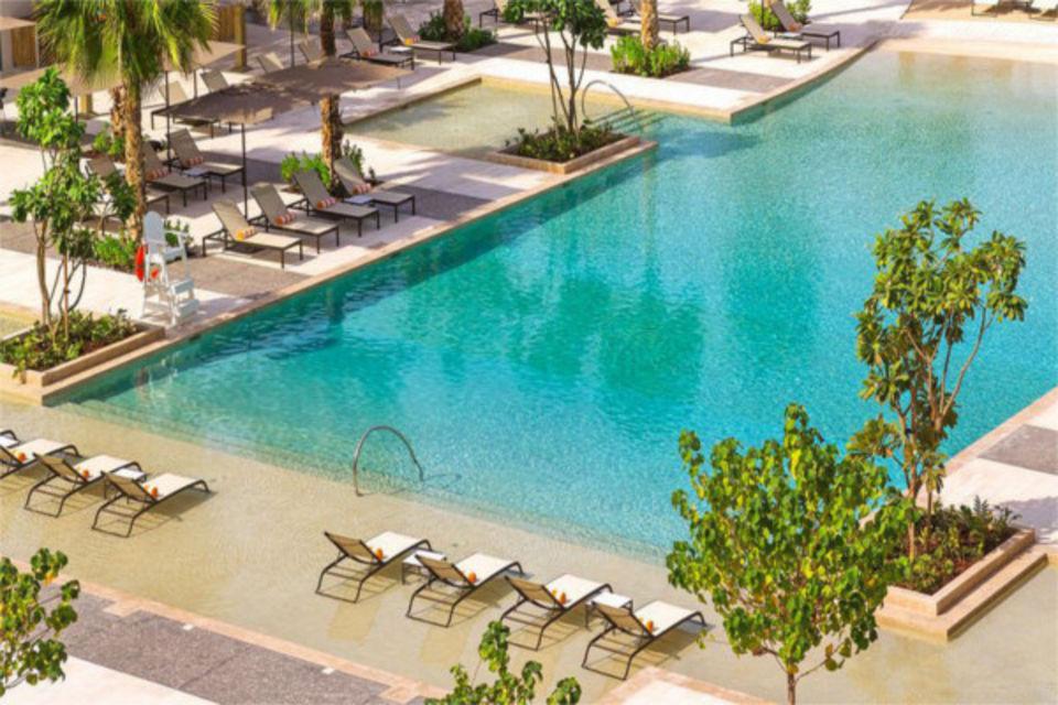 Hôtel Caesars Resort Bluewaters Dubai et les Emirats Emirats arabes unis