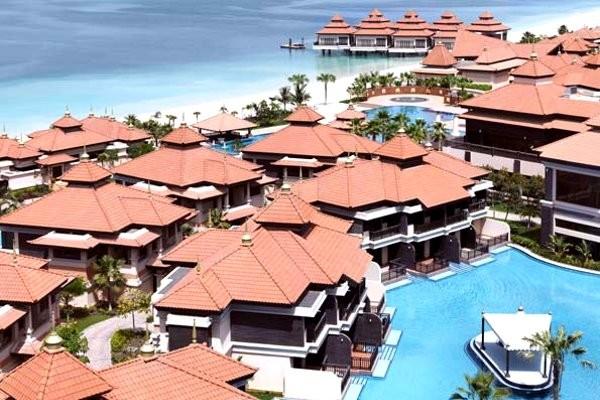 Vue panoramique - Anantara Palm Jumeirah Resort & Spa Hôtel Anantara Palm Jumeirah Resort & Spa5* Dubai Dubai et les Emirats