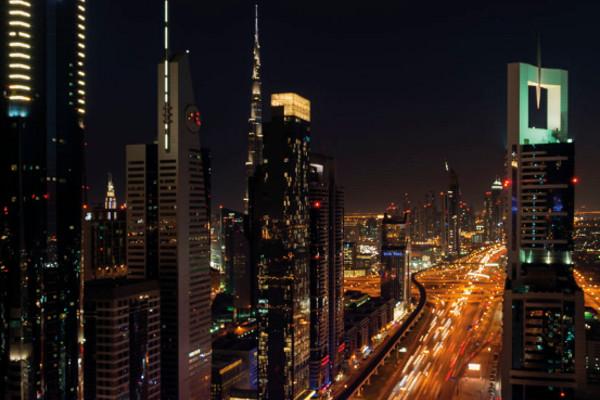 Vue Hôtel Hôtel Four Points by Sheraton Sheikh Zayed Road4* Dubai Dubai et les Emirats