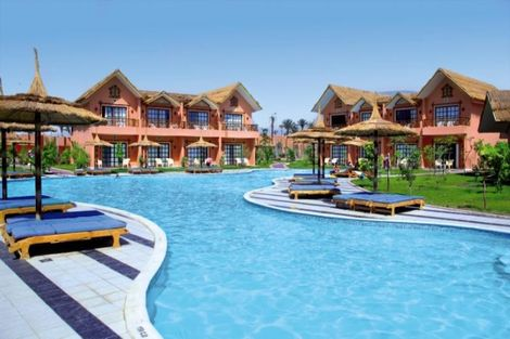 Egypte-Hurghada, Hôtel Jungle Aqua Park 4*
