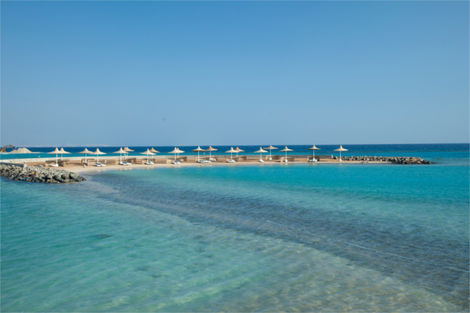 Egypte-Hurghada, Hôtel Coral Beach Resort 4*