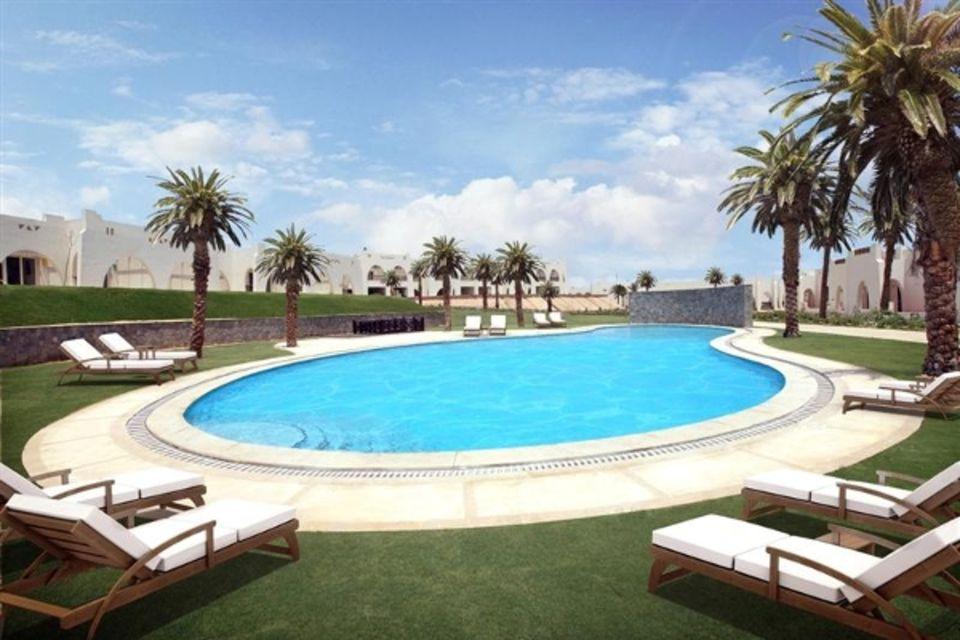 Hôtel Hilton Nubian Resort Mer Rouge Egypte