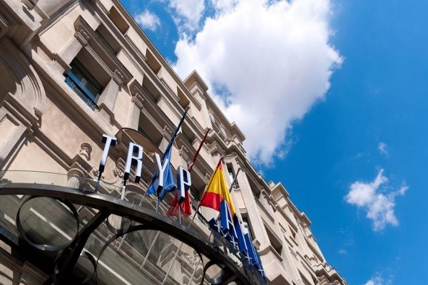 façade - Tryp Atocha  Hotel Tryp Atocha4* Madrid Espagne