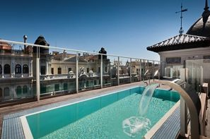 Espagne-Madrid, Hôtel Catalonia Gran Via Madrid 4*