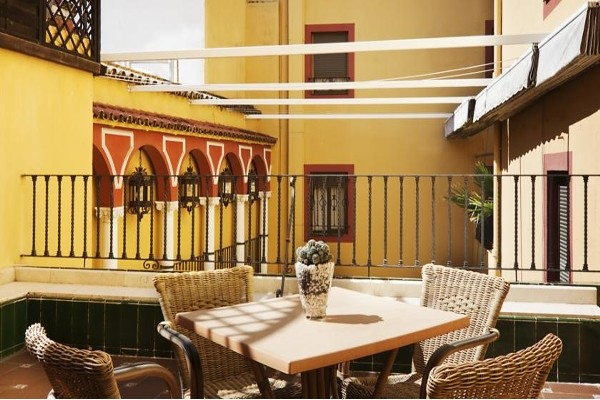 terrasse - H10 Corregidor Hotel H10 Corregidor3* Seville Espagne