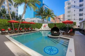 Etats-Unis-Miami, Hôtel Red South Beach 3*