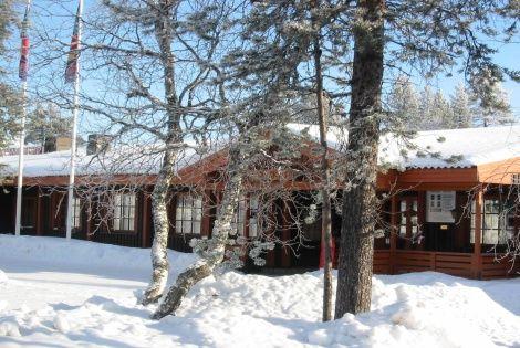 Façade de l'auberge - Perdrix des Neiges Auberge (hôtel) Perdrix des Neiges3* Ivalo Finlande