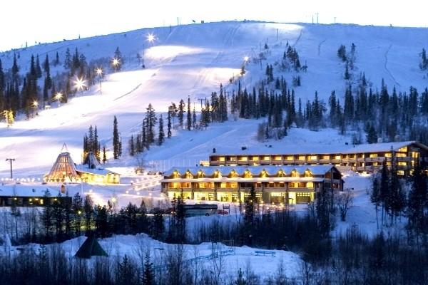Vue panoramique - Hetta - Magie de Laponie Hôtel Hetta - Magie de Laponie3* Kittila Finlande