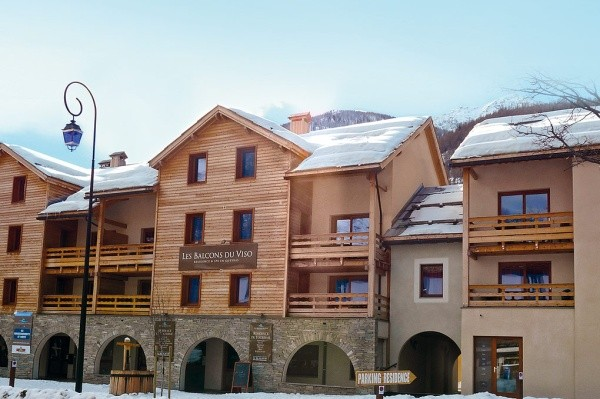 Façade - Les Balcons du Viso Résidence avec services Les Balcons du Viso Abriès France Alpes