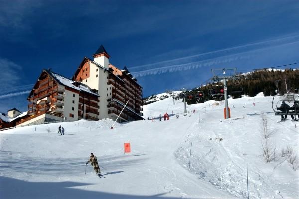 facade - Le Flocon d 'Or Résidence avec services Le Flocon d 'Or Les 2 Alpes France Alpes