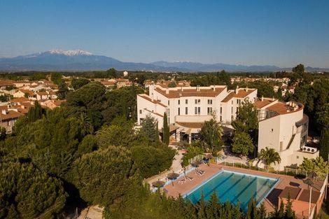 France Languedoc-Roussillon-Alenya, Hôtel Qualité Hôtel, Restaurant & Spa Las Motas Chambre Junior Suite 3*