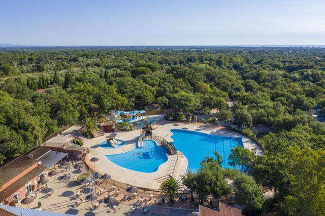 France Languedoc-Roussillon : Fram Camping Club Bois Fleuri Occitanie