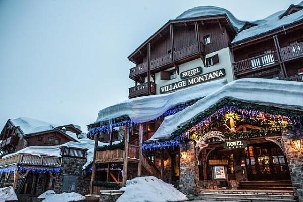 Facade - Village Montana Hôtel Village Montana4* Tignes France Rhone-Alpes